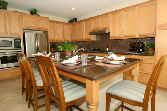 Popular types of wood in kitchens